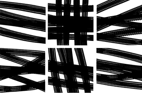 Death Drive, 2009 Set of six screen-prints