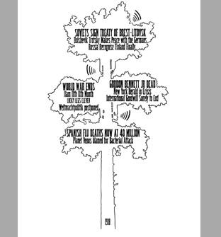 Headline Drawing, 2005 glycee print